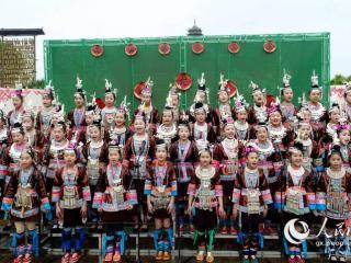 广西三江:侗歌飞扬迎春社