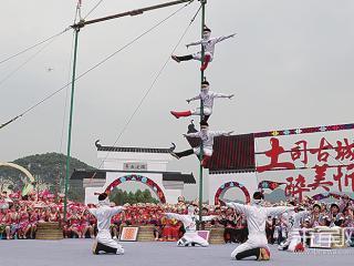 忻城:寻土司古韵 展壮乡风情