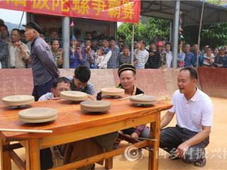 """防城区峒中镇:旋螺、欢歌喜庆""""三月三"""""""