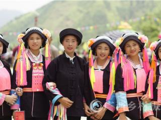 凌云县:百朝村第五届瑶族文化节迎八方宾朋
