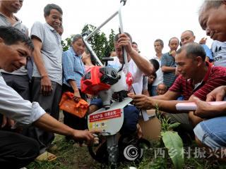 融安县:农机技术送到田间地头