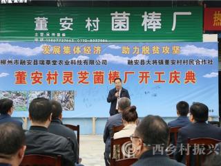 融安县:大将镇董安村发展集体经济  助力脱贫攻坚