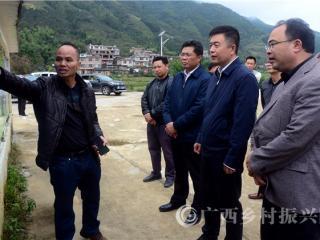 平桂区:贺州市领导到沙田镇调研指导脱贫攻坚工作