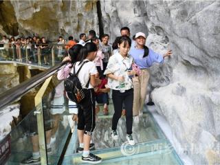 罗城:国庆假期共接待游客14.91万人次  乡村旅游消费活动高涨