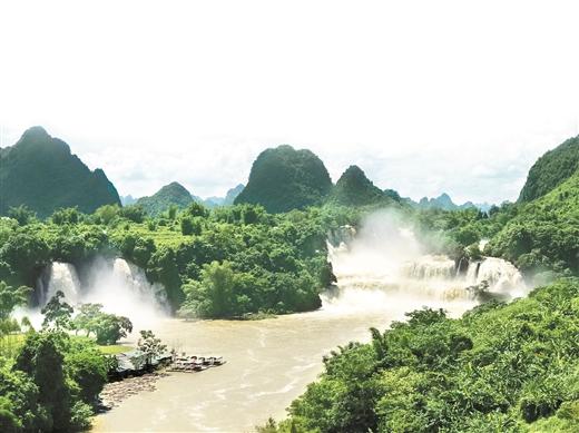 """大新县:看德天跨国瀑布如何打造""""国家级山水名片"""""""