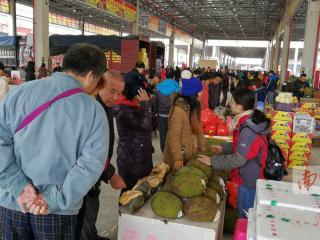 南宁农产品交易中心试业迎客 位于长虹路88号