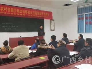 大化县:为贫困户免费培训电工技能