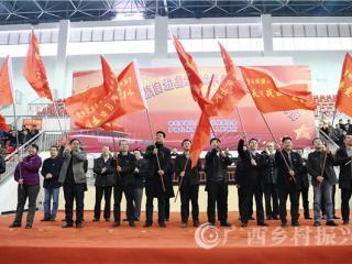 罗城县:2019年全县脱贫攻坚誓师大会召开
