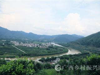 蒙山县水秀村:绿色田园画卷