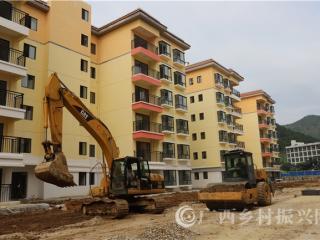 大化县:26栋易地扶贫搬迁楼即将交房使用