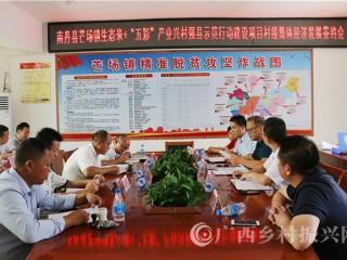 南丹县:芒场镇举行村级集体经济发展签约会