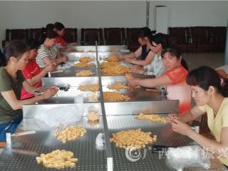 江州区濑湍镇:仁良村创建仁瑞橡胶指套扶贫加工车间