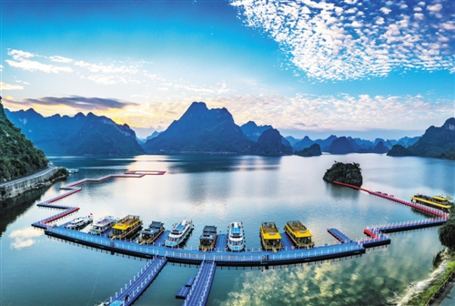 上林县:山清水秀生态美 产业兴旺正崛起