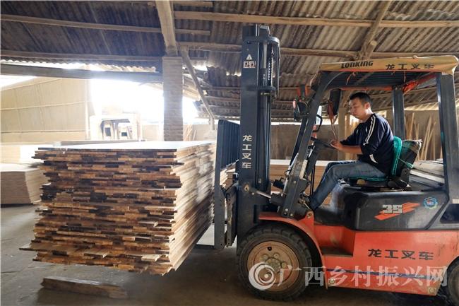 融安县:乡村微车间  助力早脱贫