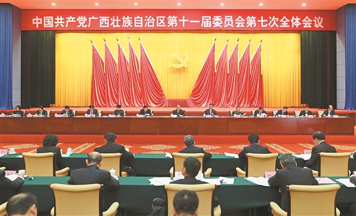 中国共产党广西壮族自治区第十一届委员会第七次全体会议公报