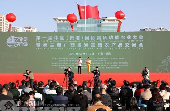 第一届中国(贵港)国际富硒功能农业大会举办 签约116亿