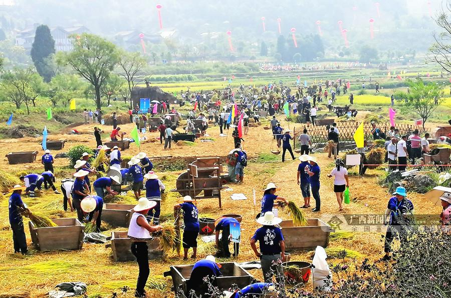 2020年广西庆祝中国农民丰收节在全州大碧头启动
